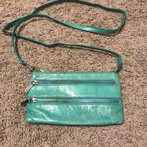 Teal Hobo Crossbody